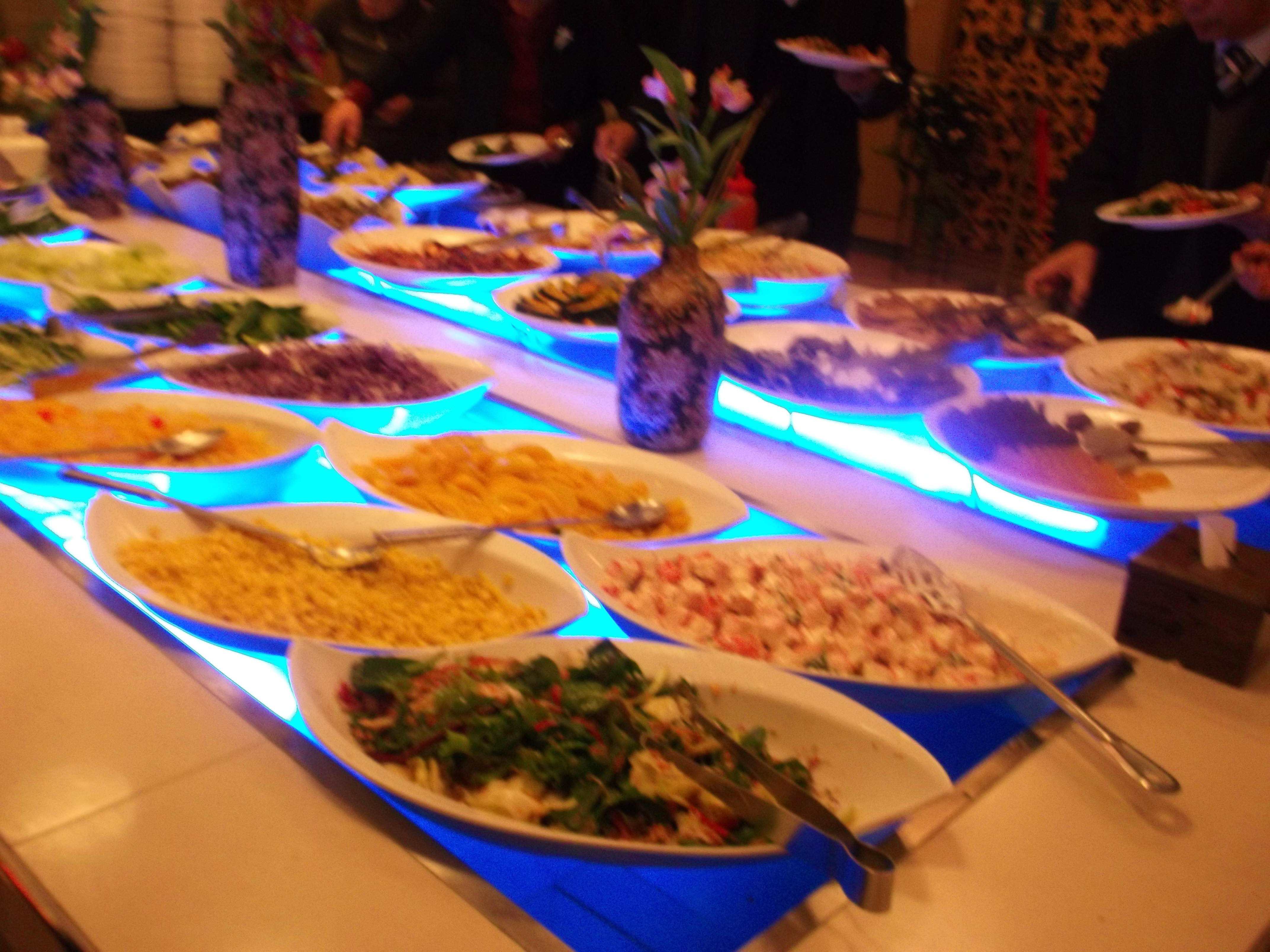 So Less Than An Hour Later We Were In There Filling Our Plates With Food Not The Bride And Groom Wanted To Serve Just