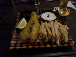 The Sherlock Holmes in Seomyeon, Busan. The best fish & chips I've had in South Korea.